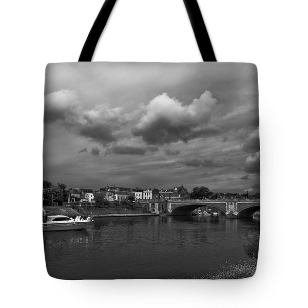 Hampton Bridge Tote Bag