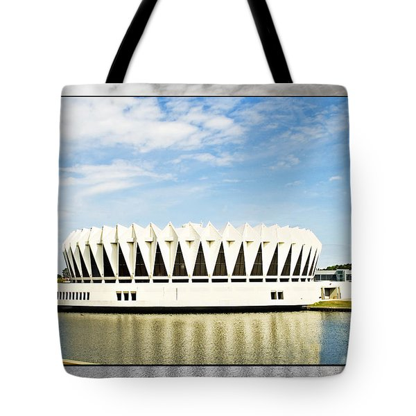 Hampton Coliseum Tote Bag