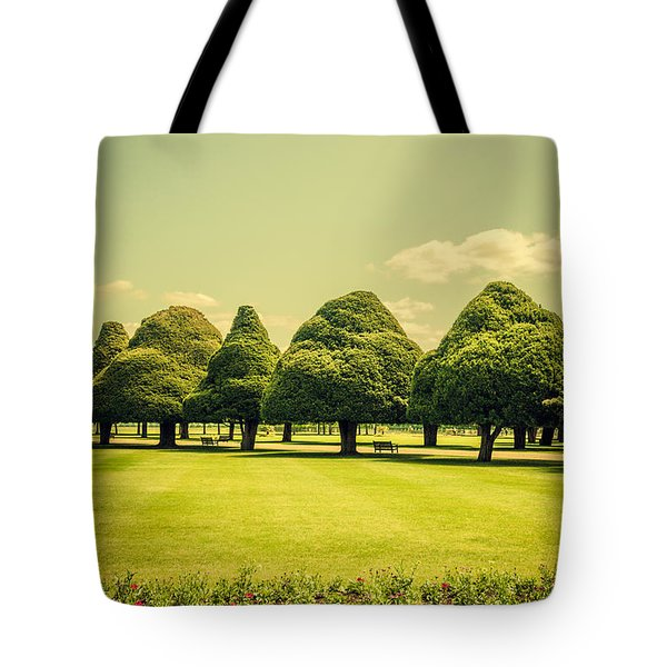 Hampton Court Palace Gardens Summer Colours Tote Bag