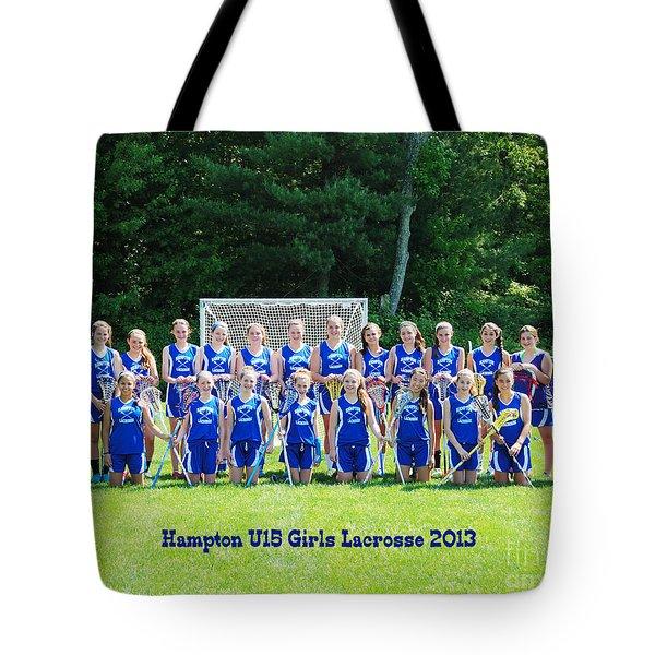 Hampton U15 Girls 2013 Tote Bag