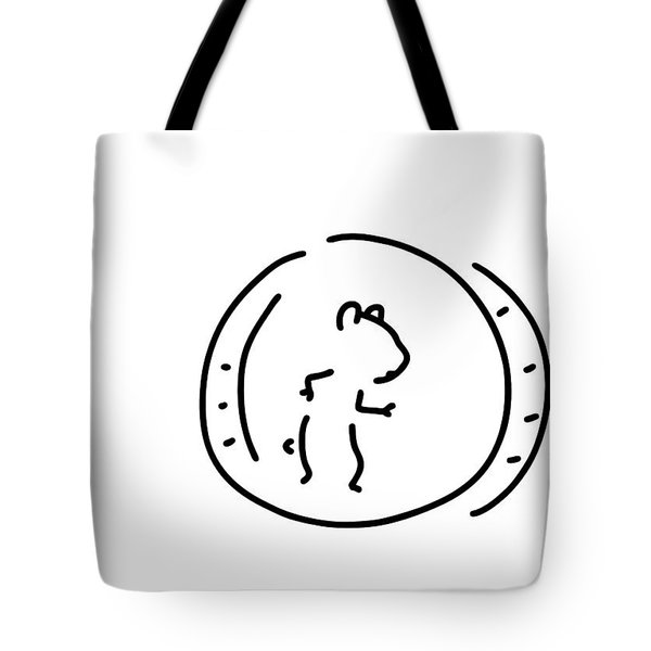 Hamster Pinch Hamster's Wheel Tote Bag