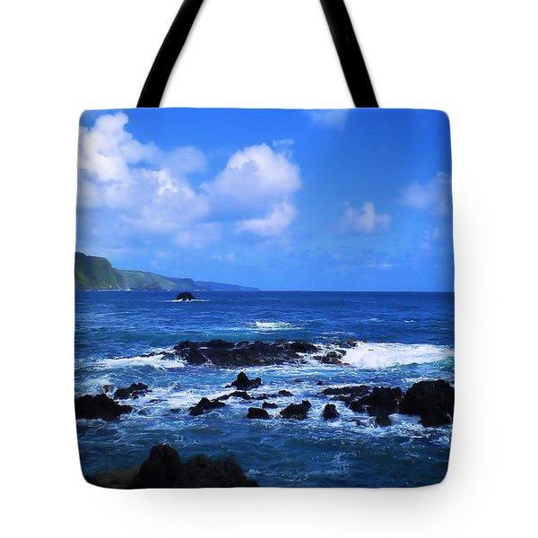 Hana Bay Happiness Tote Bag
