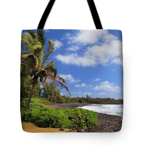 Hana Beach Tote Bag by Inge Johnsson