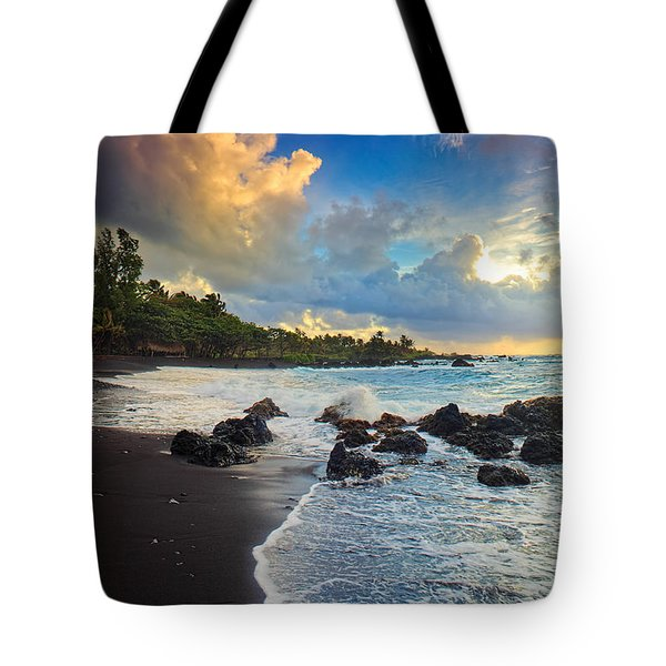 Hana Clouds Tote Bag by Inge Johnsson