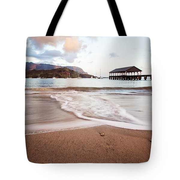 Hanalei Dawn - Kauai, Hawaii Tote Bag by Melanie Alexandra Price