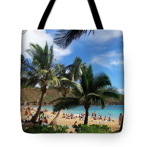 Hanauma Bay Beach Tote Bag