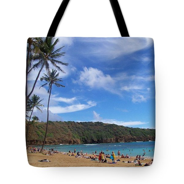 Hanauma Bay Oahu Hawaii Tote Bag