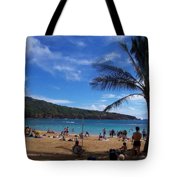 Hanauma Beach  Tote Bag