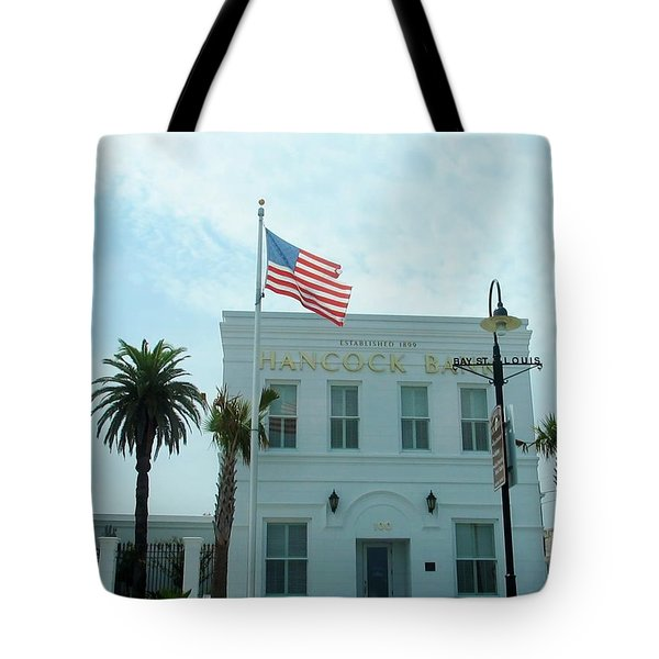 Bay Saint Louis - Mississippi Tote Bag by Deborah Lacoste