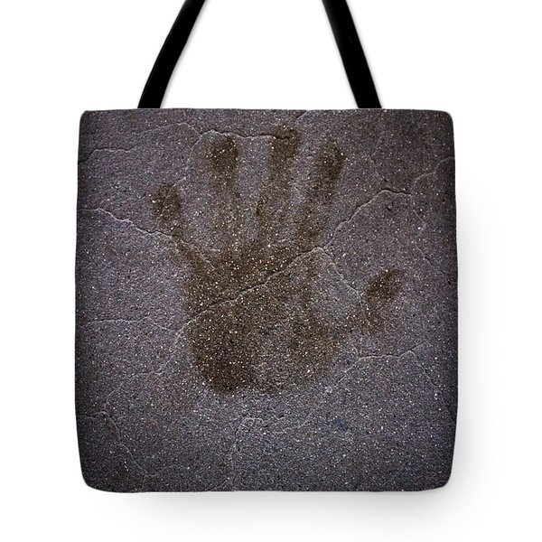 Tote Bag featuring the photograph Hand Of Hope by Joel Loftus