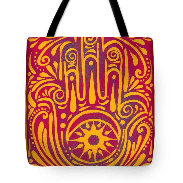 Hand Of Passion And Magic  Tote Bag