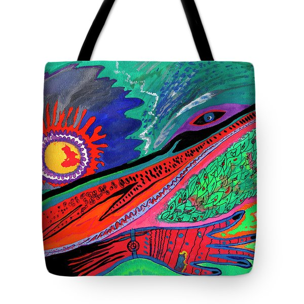 Hand Of Time Tote Bag