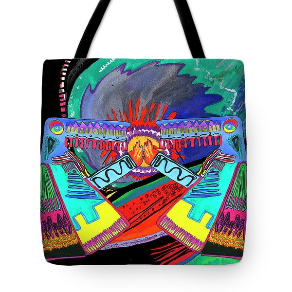 Hand Of Time.meeting Tote Bag