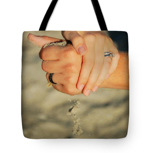 Hands Of Time Tote Bag by Leticia Latocki