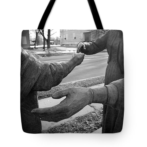 Hand To Hand Tote Bag