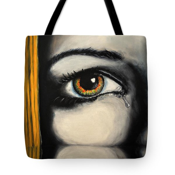 Handle With Care Tote Bag by Ruben Barbosa