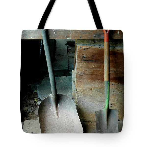 Tote Bag featuring the photograph Handled And Raked by Christiane Hellner-OBrien