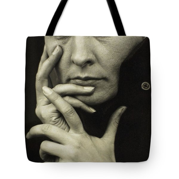Tote Bag featuring the photograph Hands by Celestial Images