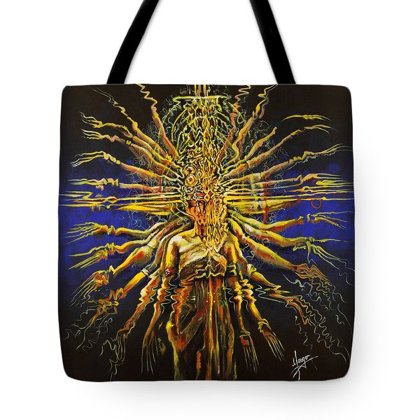 Hands Of Compassion Tote Bag by Karina Llergo