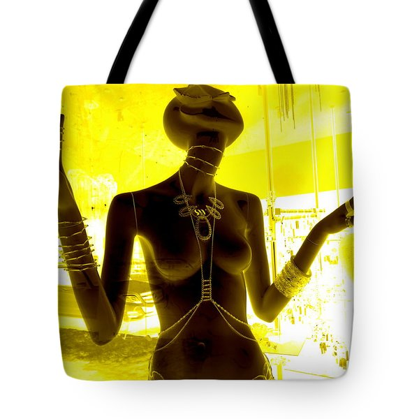 Hands Of Peace Tote Bag by Ed Weidman