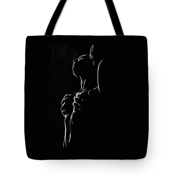 Hands On My Skin Tote Bag