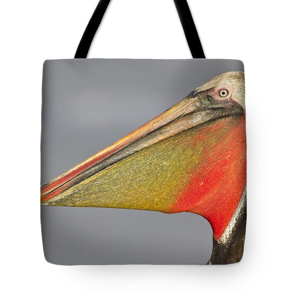 Handsome In Red Tote Bag