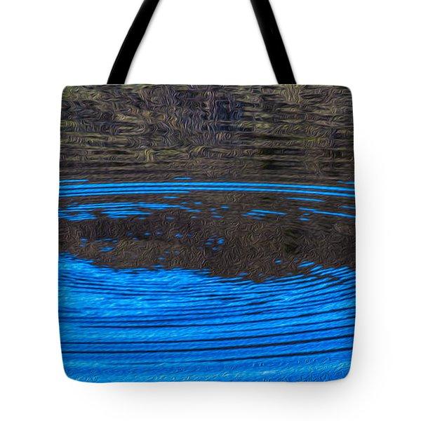 Handy Ripples Tote Bag by Omaste Witkowski