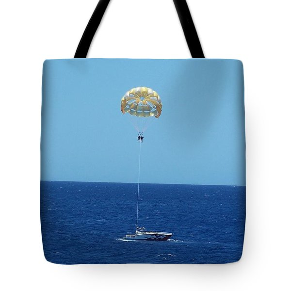 Hang Gliding Fun Tote Bag