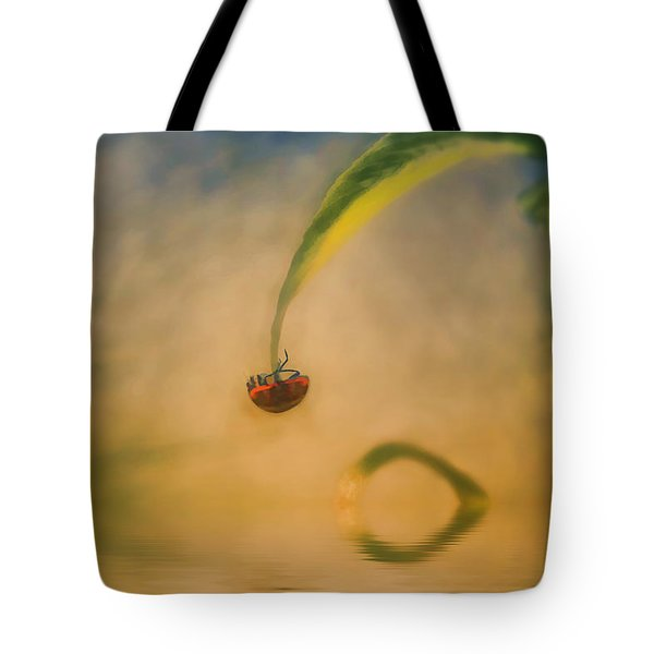 Hang In There Tote Bag by Diane Dugas