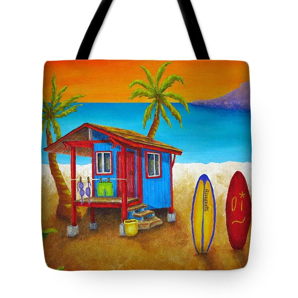 Hangin Loose Tote Bag by Pamela Allegretto