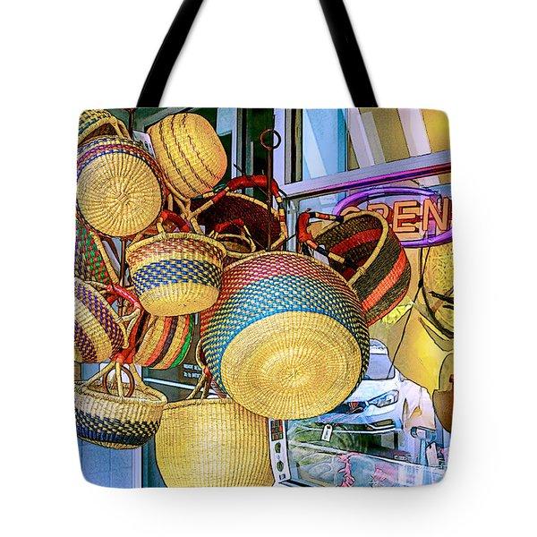 Hanging Baskets Tote Bag