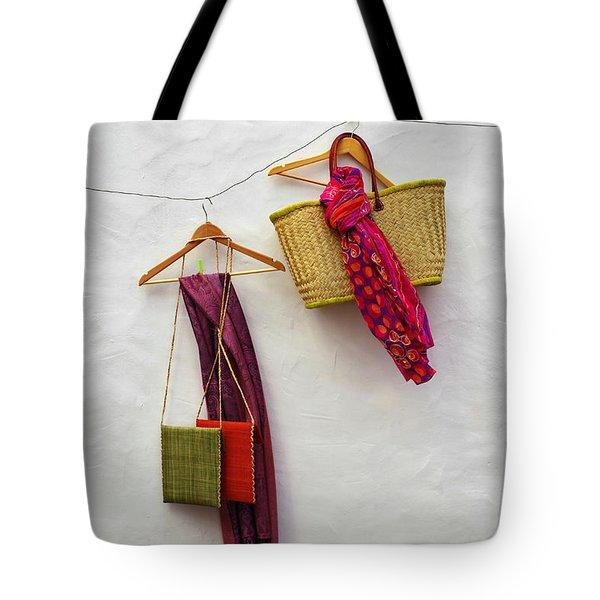 Hanging Handicraft  Tote Bag