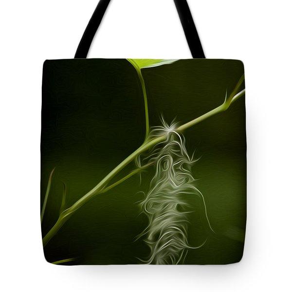 Hanging On Tote Bag by David Kehrli