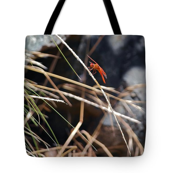Tote Bag featuring the photograph Hanging On by Michele Myers