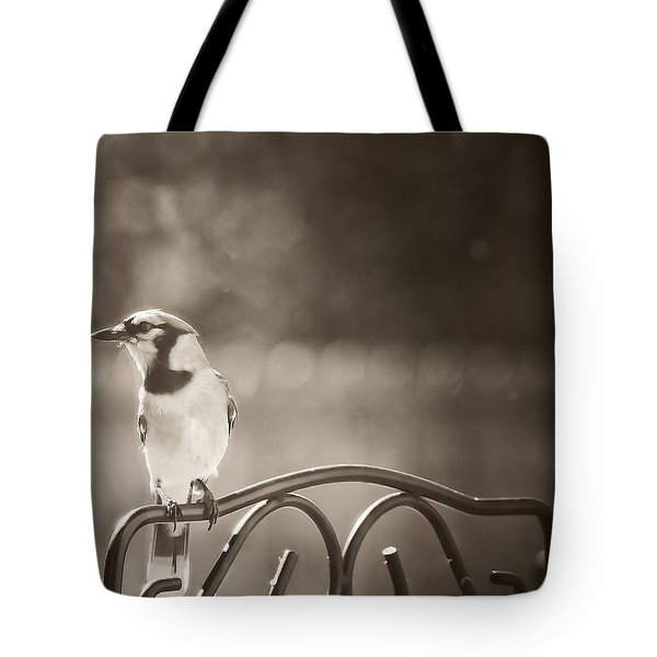 Hanging Out In The Garden Tote Bag