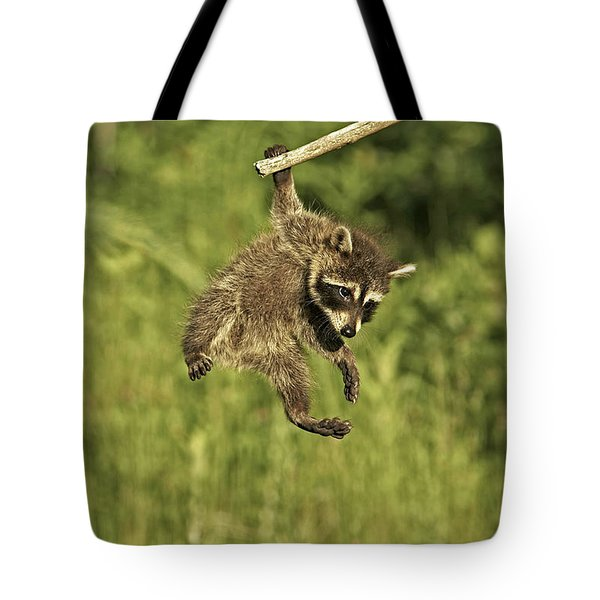 Hanging Out Tote Bag by Jack Milchanowski
