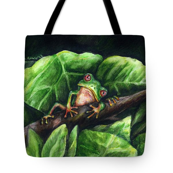 Hanging Out Tote Bag by Shana Rowe Jackson