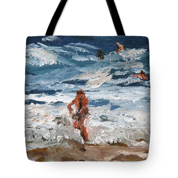 Hanging Ten Tote Bag