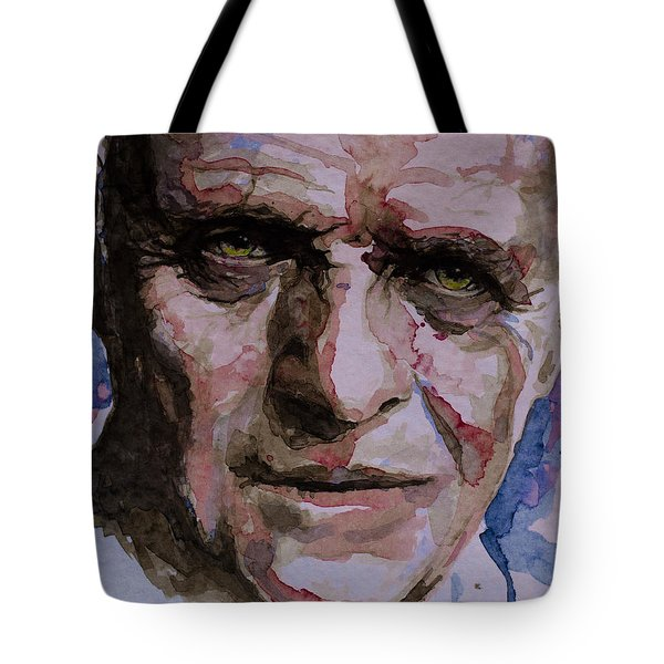 Tote Bag featuring the painting Hannibal by Laur Iduc