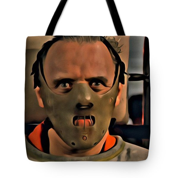 Hannibal Lecter Tote Bag