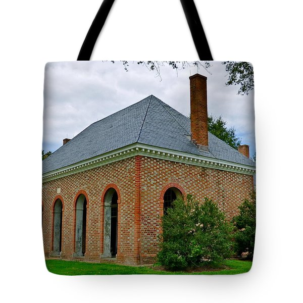 Hanover County Courthouse Tote Bag