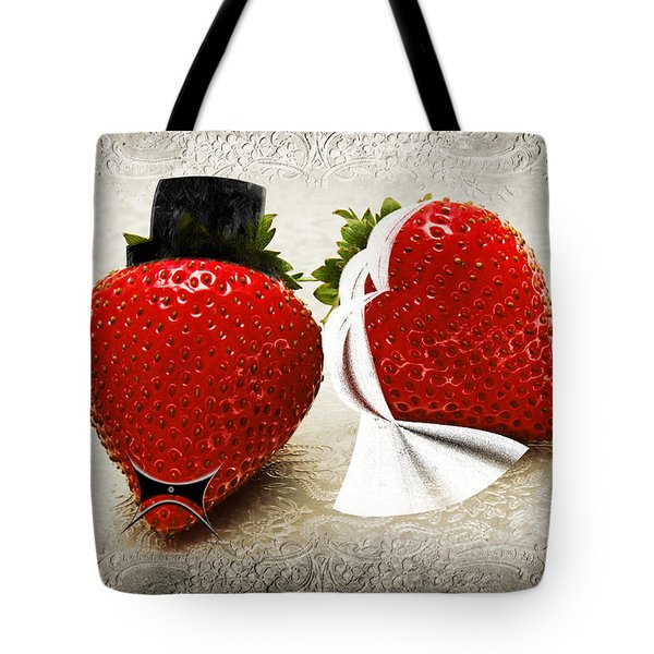 Happily Berry After Tote Bag by Andee Design