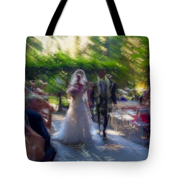 Tote Bag featuring the photograph Happily Ever After by Alex Lapidus