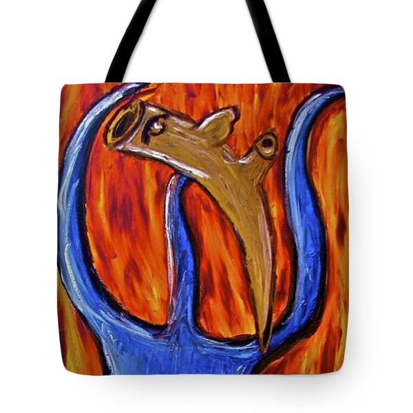 Happiness 12-002 Tote Bag by Mario Perron