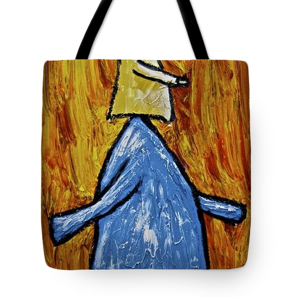 Tote Bag featuring the painting Happiness 12-004 by Mario Perron