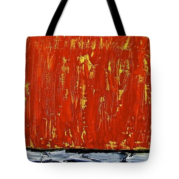 Tote Bag featuring the painting Happiness 12-007 by Mario Perron