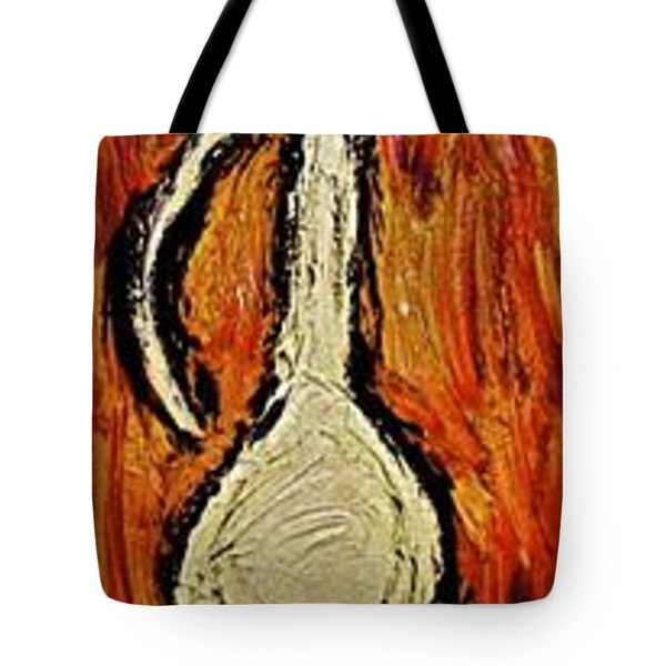 Tote Bag featuring the painting Happiness 12-011 by Mario Perron