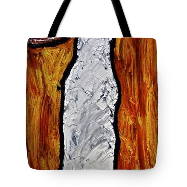 Tote Bag featuring the painting Happiness 12-012 by Mario Perron