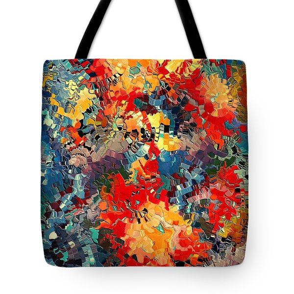 Happiness By Rafi Talby Tote Bag by Rafi Talby
