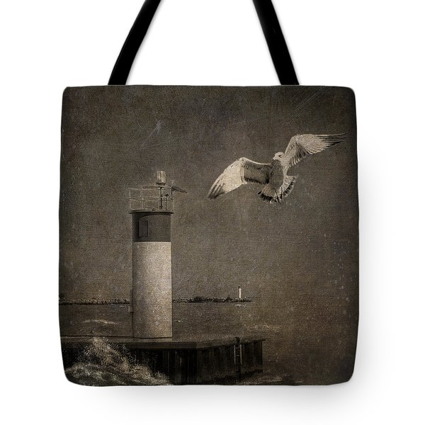 Happy And Free As A Seagull Tote Bag